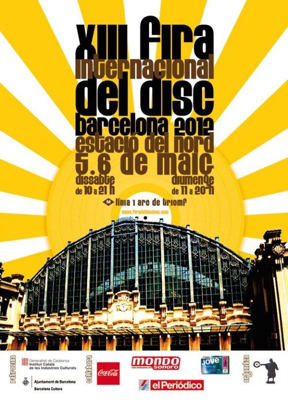 Fira Internacional del Disc de Barcelona 2012